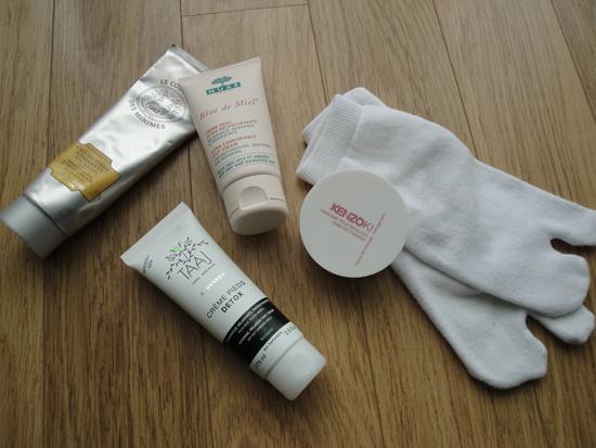 Test comparatif crèmes pour les pieds - PouletteBlog