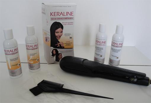 Test Keraline, lissage brésilien à domicile - PouletteBlog