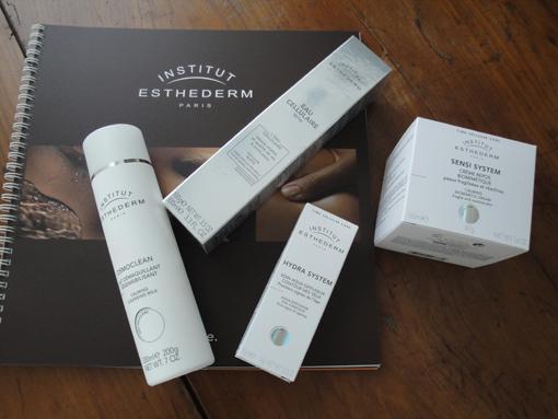 Ma routine beauté SOS peau sensible par l'Institut Esthederm - Poulette Blog