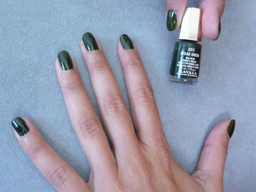 Test Mavala Cedar Green - PouletteBlog