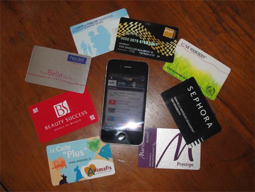 Une appli iPhone pour le shopping : Fidall - PouletteBlog