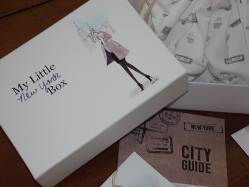 Coup de coeur pour la Little Box de mars spéciale New York - Poulette Blog