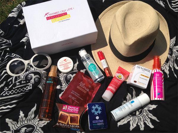 Monoprix te concocte la box parfaite pour partir en vacances ! - Poulette Blog