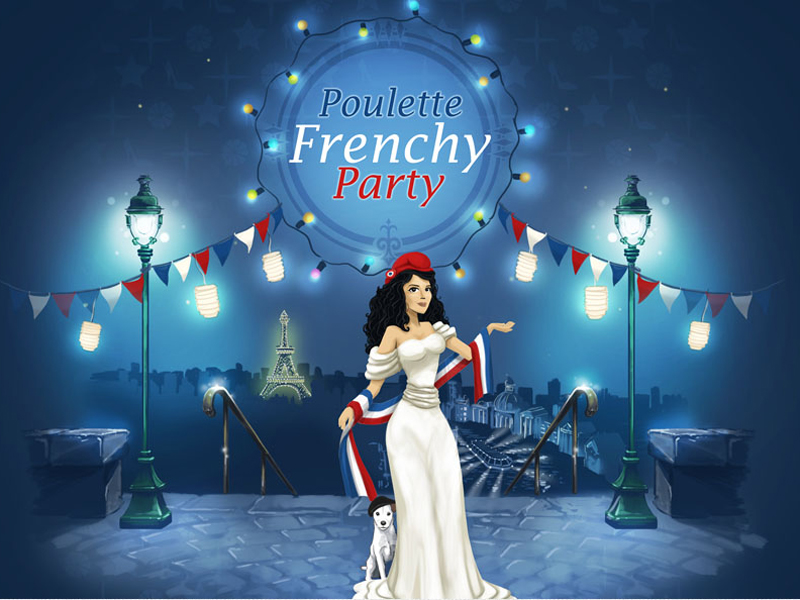 Embarquez pour la Poulette Frenchy Party ! - Poulette Blog