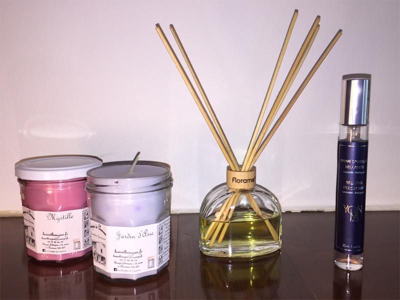 Bougie, parfum d'intérieur, brume d'oreiller... ces jolies choses pour nous sentir bien à la maison - Poulette Blog